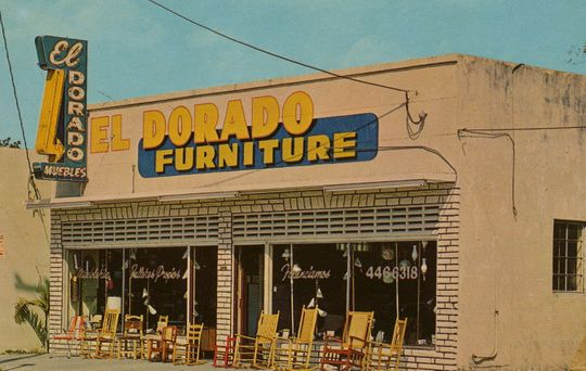 On June 27 1967 El Dorado Furniture Opened Its Very First In The Heart Of Miami Photo